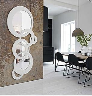 disarte espejos modernos bruselas blanco lacado x ibergada