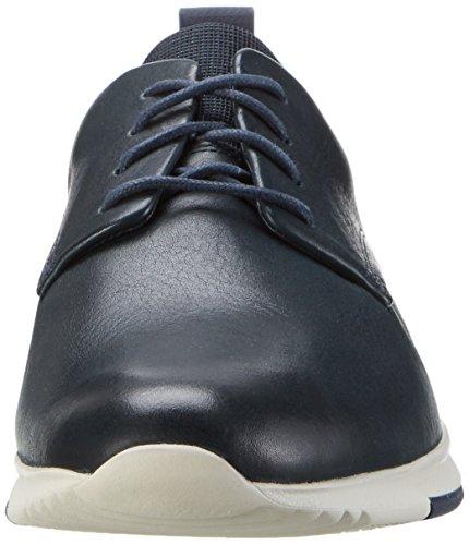 Navy Ginnastica ClarksTynamo Walk Blu Scarpe Uomo Basse Leather da xxHgv