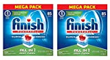 Finish All In 1 Powerball, Fresh 85 Tabs, Dishwasher Detergent Tablets (Packaging May Vary) (2 X 85 TABLETS)