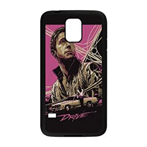 Drive Poster Vector 5 Samsung Galaxy S5 Cell Phone Case Black Decoration pjz003-3751497