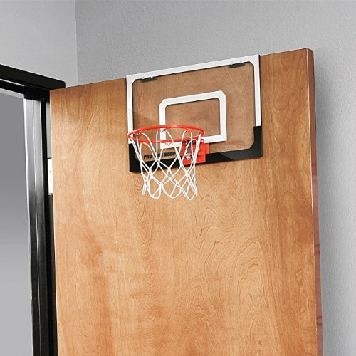 "SKLZ Pro Mini Basketball Hoop W/ Ball. 23""x16"" Shatter Resistant Backboard"