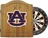 Imperial Officially Licensed NCAA Merchandise: Dart Cabinet Set with Steel Tip Bristle Dartboard, Auburn Tigers