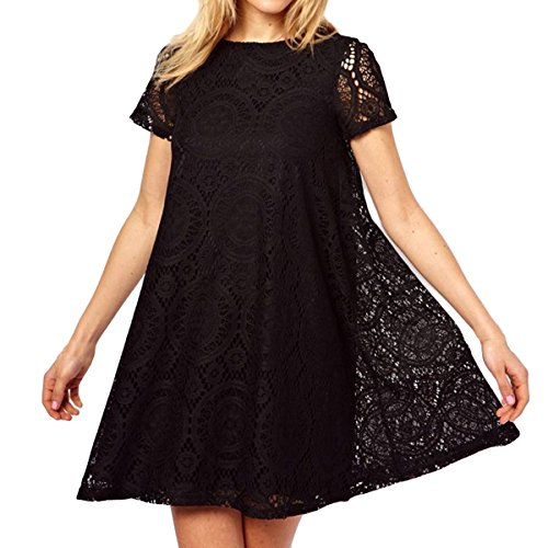 Women Summer Sexy Off Shoulder V-neck A-line Mini Strapless Loose Casual Dress