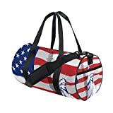 Vintage Distressed American State Flag Travel Duffel Shoulder Bag ,Sports Gym Fitness Bags For Sale