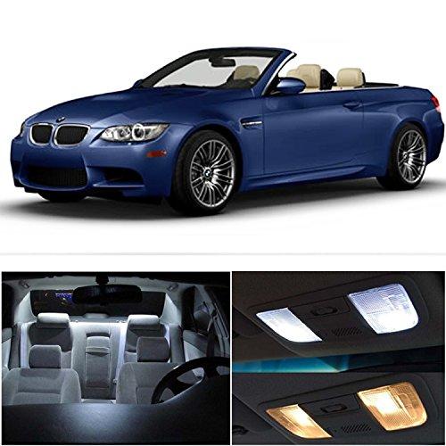 1 BMW 3 Series E93 (328i 335i M3) Convertible ERROR FREE Premium LED Interior Package Kit (9 pcs) (2009 Bmw Convertible)