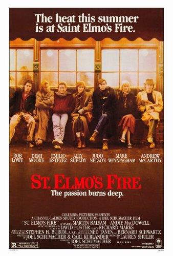 saint elmos fire poster
