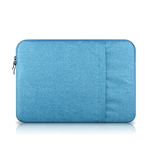 Funda Blanda Bolso Sleeve Para Ordenador Portátil / Macbook / Ultrabook Netbook Lake Blue