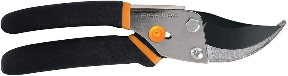 Fiskars 91095935J Steel Bypass Pruning Shears - 2 Pack