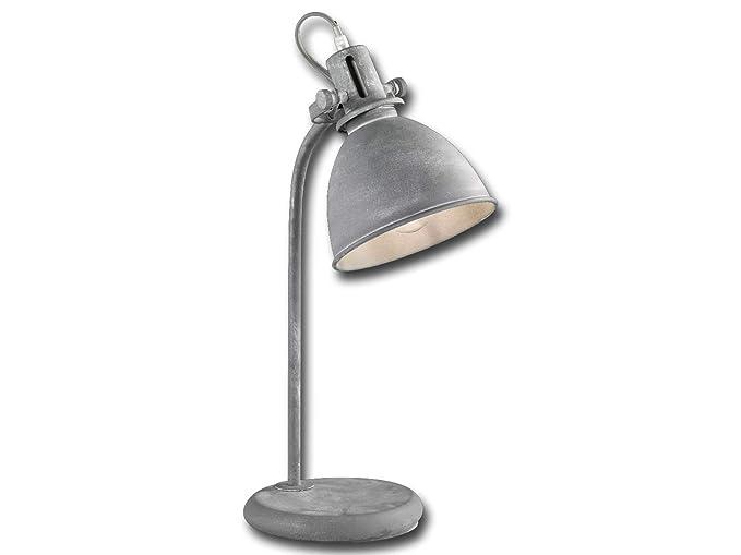 Retro lámpara de mesa lámpara de escritorio Kent con LED ...