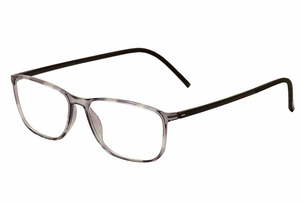9acabf1148 Amazon.com  Silhouette Eyeglasses SPX Illusion Fullrim 2888 6052 Grey  Tortois 2888-6052-55mm  Clothing