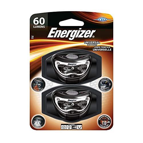 Energizer Universal Headlight 60 Lumens LED Night Vision Pivoting Head (2)