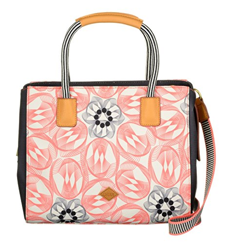 Rose Handbag Flower Swirl Oilily Flamingo USt1SZwq