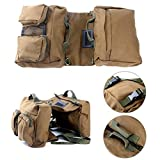 Yaekoo Dog Pack Hound Travel Camping Backpack Saddle Bag...