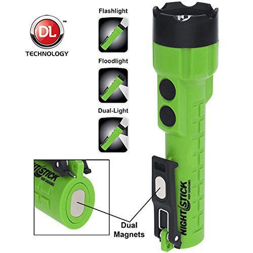 Nightstick NSP-2424GMX Multi-Purpose Flashlights, Green/Black