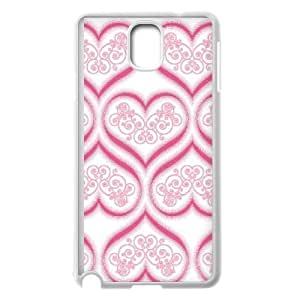 Samsung Galaxy Note 3 Cell Phone Case White Enchanted Hearts OJ628484