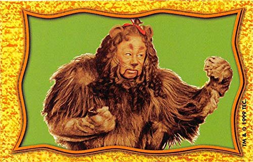 - Cowardly Lion trading card Bert Lahr Wizard of Oz 1999 TP gaming #WOZ17 size 2x3.5