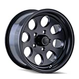 Ion Alloy Style 171 Matte Black Wheel with Machined Lip (16x8