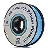 3D Solutech Aqua Blue 1.75mm 3D Printer PLA Filament 2.2 LBS (1.0KG) - 100% USA