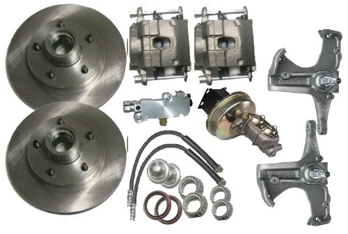 - McGaughys Chevy C10 1967 - 1970 2WD Stock Spindles 5 Lug Power Disc Brake Conversion