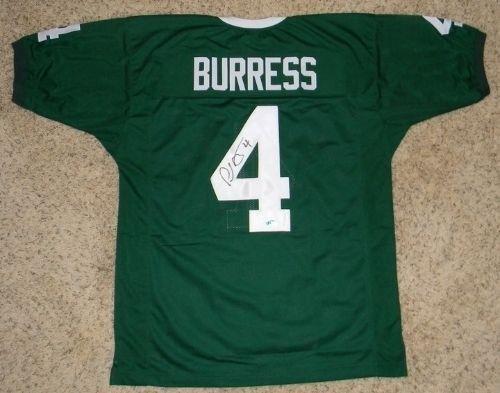 e24b58ca9 Amazon.com  Signed Plaxico Burress Jersey -  4 Green Coa - Autographed  College Jerseys  Sports Collectibles