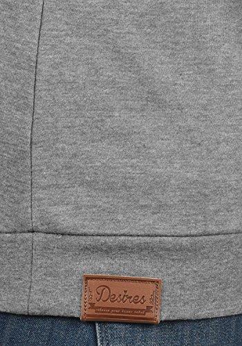 Veste 8236 En shirt Avec Grey Vicky Melange Sweat Desires Col Femme Zippé Sweat Pour Zipper Droit 0qEwntZ