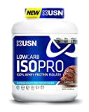 USN Low Carb Isopro Whey Protein Isolate Chocolate Nutrition Supplement, 4.0 Pound by USN