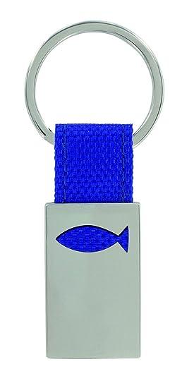 Llavero pez de metal/textil de los regalo de Expertos ...