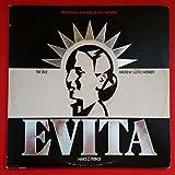 EVITA Soundtrack Dbl LP Vinyl VG+ Cover VG+ GF 1979 MCA2 11007 Webber Rice