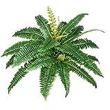 Felce Verde - Pianta Artificiale Da Arredo Interno - 27 foglie Ø40 cm