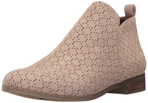 Microfiber Boot Rate Putty Women's Shoes Perforated Dr Scholl's Y1w6Z