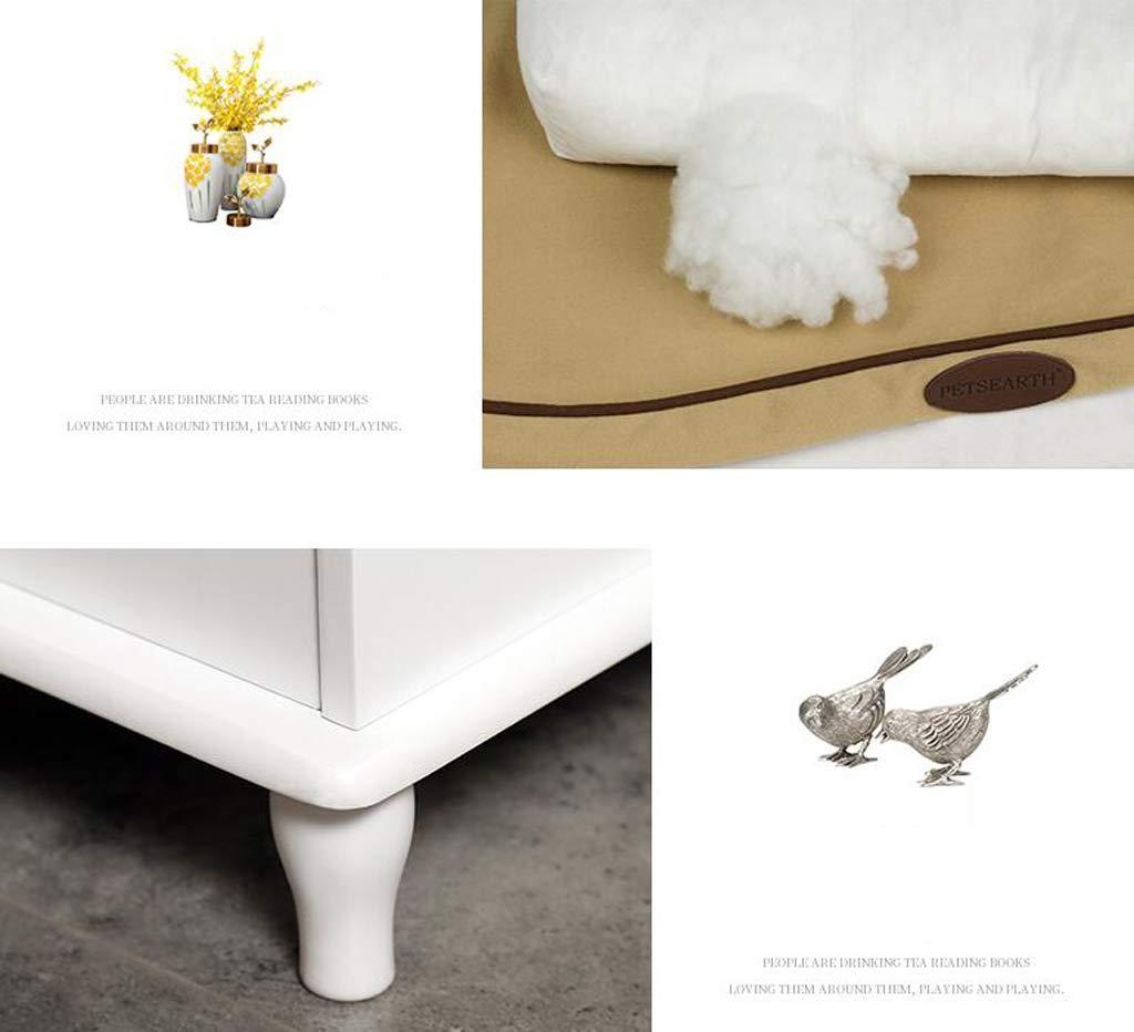 Amazon.com: Nwn Wooden Pet Bed Fully Enclosed Deodorant Cat Litter ...
