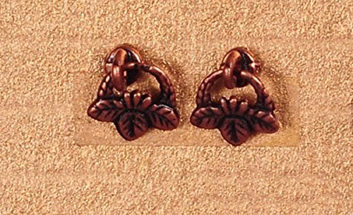 - Dollhouse Miniature 1:12 Scale 2 Pc Antique Copper Drop Pulls SET #S1491