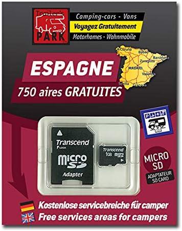 GPS Garmin – SD Card España áreas de autocaravanas (Gratis): Amazon.es: Electrónica