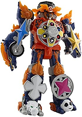 Amazon.com: Power Rangers 43740 Super Ninja Steel Blaze ...