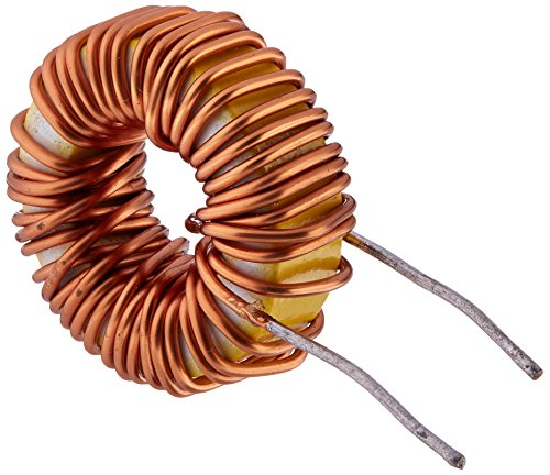 Uxcell Toroid Core Inductor Wire Wind Wound, 100uH, 33 m Ohm, 5A Coil
