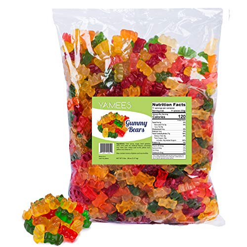 Gummy Bears - Gummy Candy - Gummy Bears Bulk - Bulk Candy - 5 Pounds