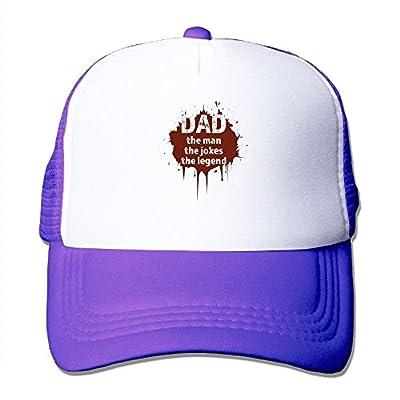 Super Dad Baseball Cap Adjustable Snapback Custom Gift Mesh Trucker Hat from Swesa
