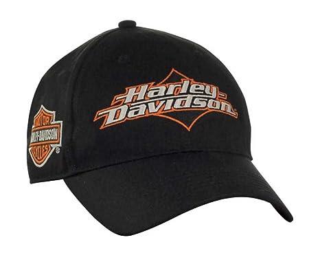 b05edc3d058 Amazon.com  Harley-Davidson Men s Joy Ride Bar   Shield Baseball Cap ...