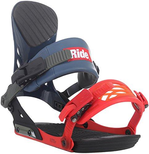 Ride Men's EX: Snowboard Bindings (Multi, Medium)