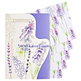 Heathcote & Ivory Wild English Lavender Luxury Fragranced Drawer Liners, Pack of 5