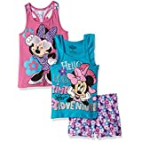 3 Piece Minnie Mouse Short Set, Turquoise, 6