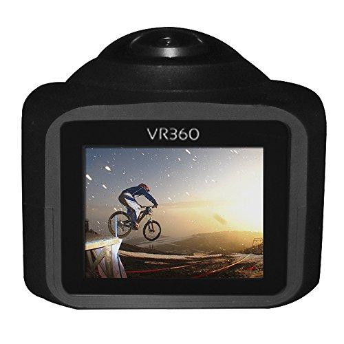 Cámara Deportiva 360 VR Video HD 1080p Pantalla Wifi Control Remoto y 8 Accesorios tipo Gopro