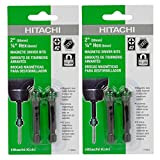 Hitachi #2 Phillips Magnetic Driver Bits #115003 (2 Packs of 2)