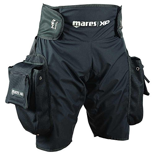 Mares XR Tek Pocket Untra Light Shorts Scuba Diving Wetsuit Tech Gear 412032