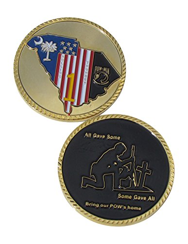 (Rolling Thunder POW-MIA Challenge Coin)