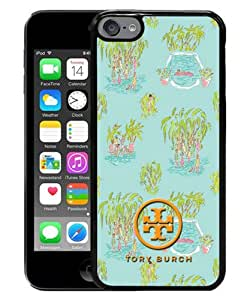 iPod Touch 6 Case ,Tory Burch 17 Black iPod Touch 6 Cover Unqiue And Durable Custom Designed Phone Case