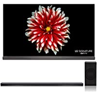 LG OLED65G7P 65 Signature OLED 4K UHD HDR Smart TV with Dolby Vision and Dolby Atmos with SJ8 4.1 Channel High Resolution Audio Soundbar with Wireless Subwoofer