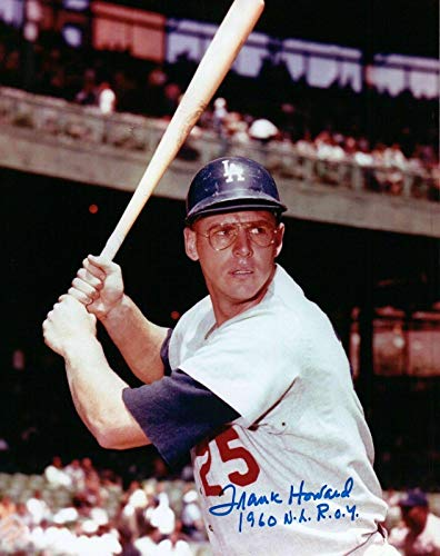 Autographed Frank Howard Photo - with