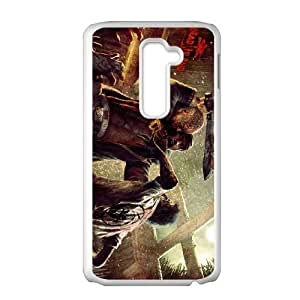 Protective TPU cover case Dead Island LG G2 Cell Phone Case White