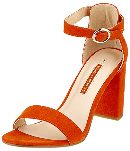 Dorothy Perkins Talons Bout Ouvert Shimmy L'orange Femmes (orange 50)